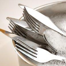Как почистить ложки и вилки из нержавейки в домашних условиях при помощи народных и профессиональных средств