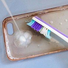 Как очистить силиконовый чехол