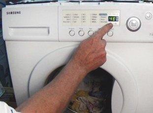Ошибка 4е на стиральной машине Samsung: что делать?