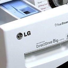 Стиральные машины LG с прямым приводом: отзывы, характеристика