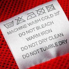 Значки на одежде для стирки: расшифровка символов на бирках